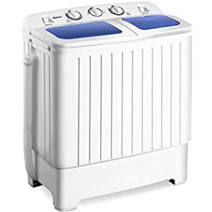 Costway Mini Compact Portable Washer, ready to do laundry in your RV, Camper, Dorm, Apartment. Review